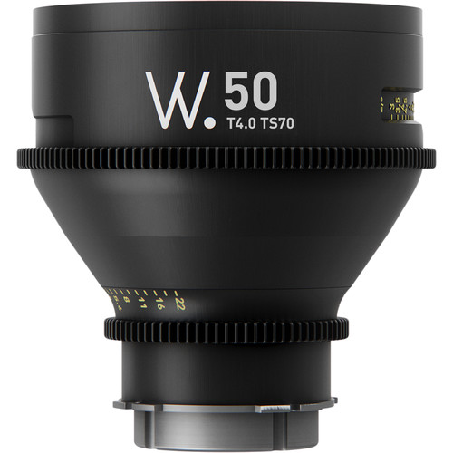 Whitepoint Optics TS70 50mm Lens with E Mount (Metric Scale)