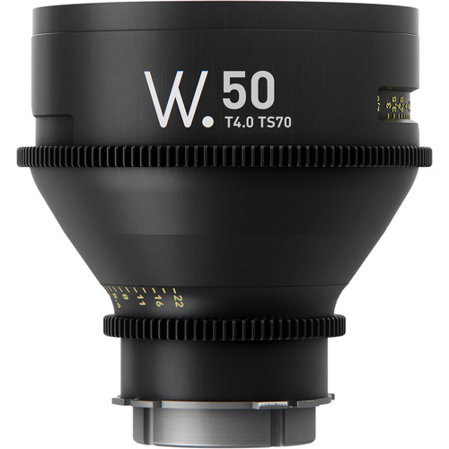 Whitepoint Optics TS70 50mm Lens with LPL Mount (Metric Scale)