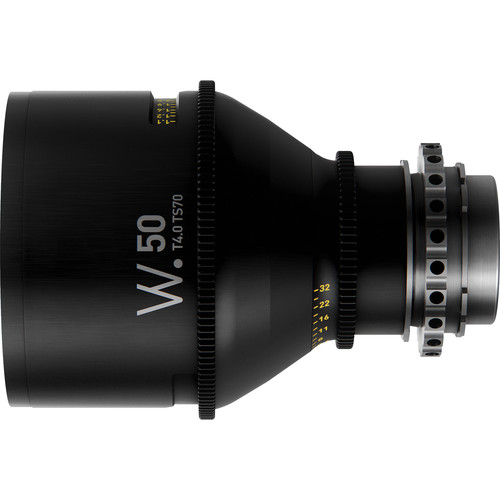 Whitepoint Optics TS70 50mm Tilt-Shift Lens with PL Mount (Metric Scale)