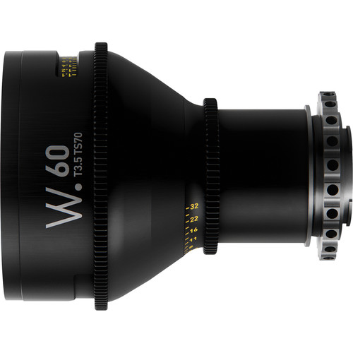 Whitepoint Optics TS70 60mm Tilt-Shift Lens with E Mount (Imperial Scale)