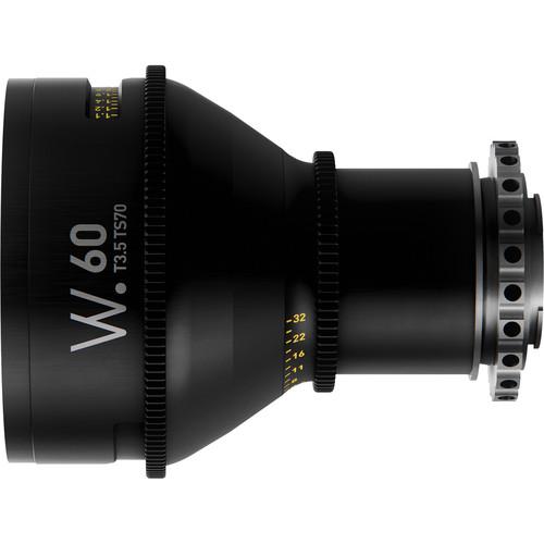 Whitepoint Optics TS70 60mm Tilt-Shift Lens with E Mount (Metric Scale)