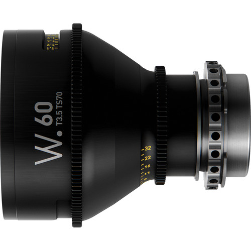 Whitepoint Optics TS70 60mm Tilt-Shift Lens with LPL Mount (Imperial Scale)