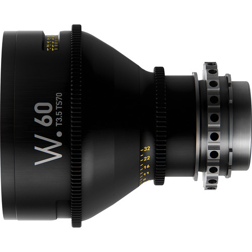 Whitepoint Optics TS70 60mm Tilt-Shift Lens with PL Mount (Imperial Scale)