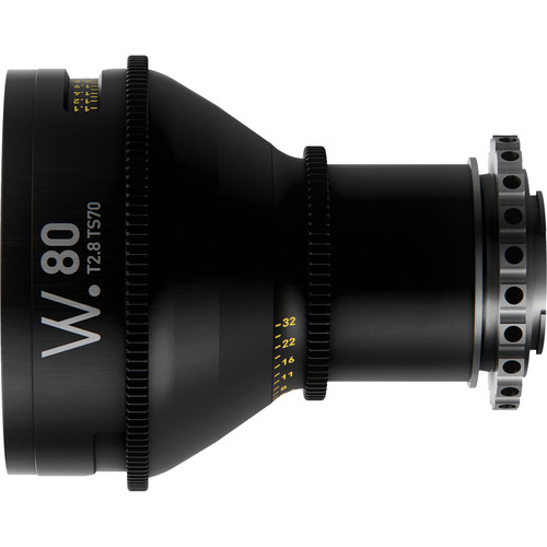 Whitepoint Optics TS70 80mm Tilt / Shift Lens with E Mount (Imperial Scale)