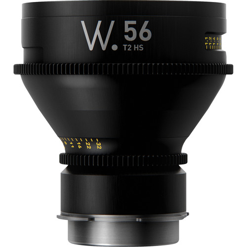 Whitepoint Optics High-Speed 56mm T2.5 Prime Lens (LPL, Meters)