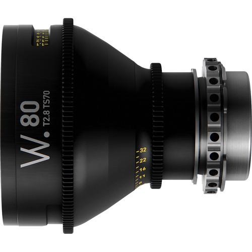 Whitepoint Optics TS70 80mm Tilt-Shift Lens with LPL Mount (Metric Scale)
