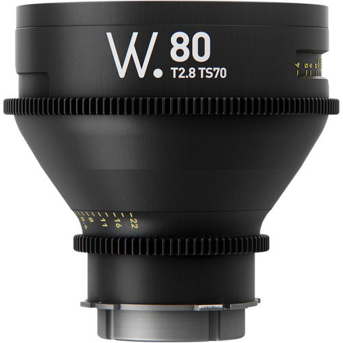 Whitepoint Optics TS70 80mm Lens with PL Mount (Imperial Scale)