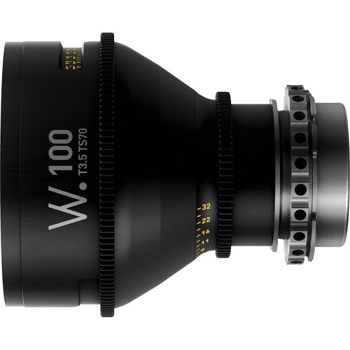 Whitepoint Optics TS70 100mm Tilt-Shift Lens with LPL Mount (Imperial Scale)