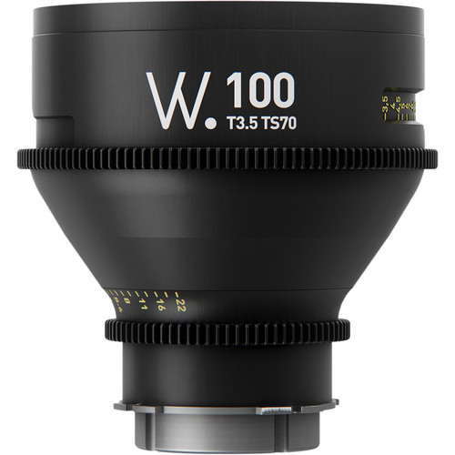 Whitepoint Optics TS70 100mm Lens with PL Mount (Imperial Scale)