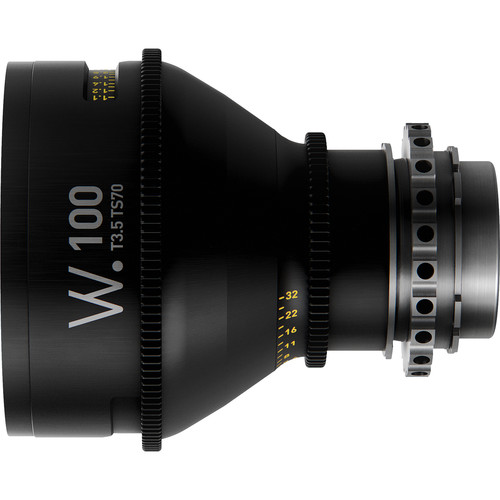 Whitepoint Optics TS70 100mm Tilt-Shift Lens with PL Mount (Imperial Scale)