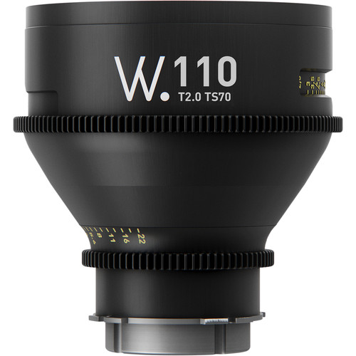 Whitepoint Optics TS70 110mm Lens with E Mount (Metric Scale)