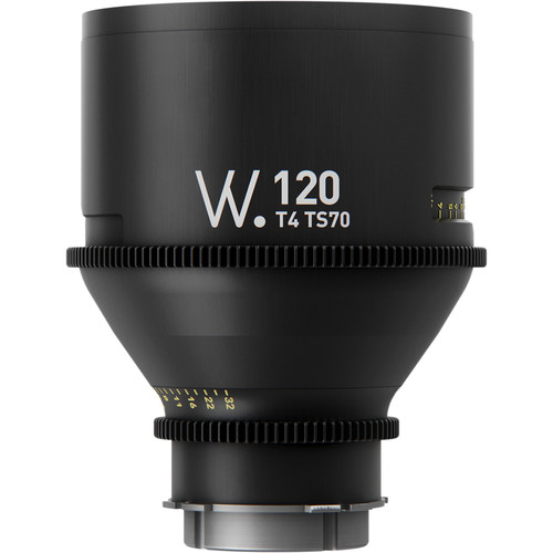 Whitepoint Optics TS70 120mm Lens with PL Mount (Imperial Scale)