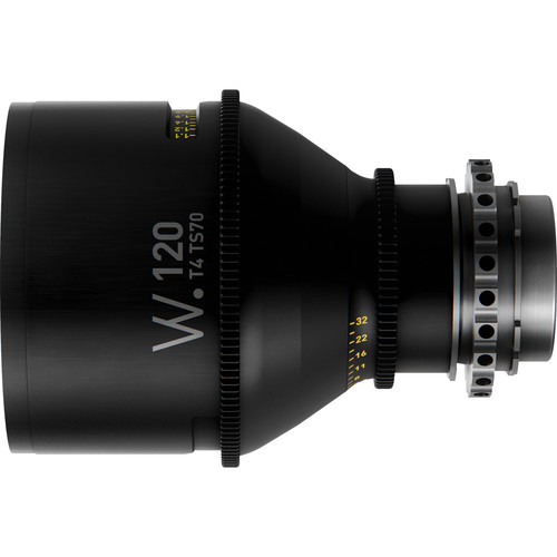 Whitepoint Optics TS70 120mm Tilt-Shift Lens with PL Mount (Imperial Scale)
