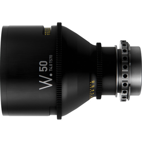 Whitepoint Optics TS70 50mm Tilt-Shift Lens with LPL Mount (Imperial Scale)