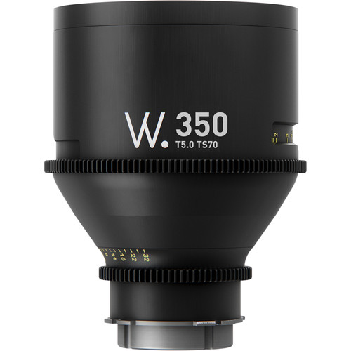 Whitepoint Optics High-Speed 350mm Lens with EF Mount (Metric Scale)