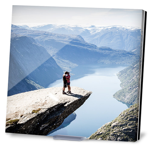 "WhiteWall Photo Print & Acrylic Stand Desk Frame Order Kit (8 x 8"")"