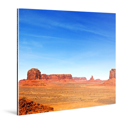 "WhiteWall Large, Square-Format Face-Mounted 0.08"" Matte Acrylic Photo Print (25 x 25"")"