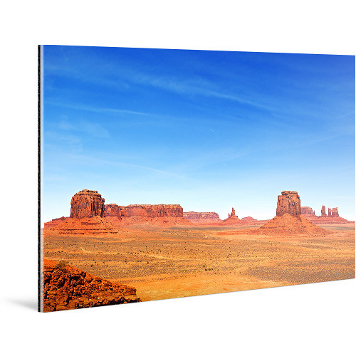 "WhiteWall Large, Panoramic-Format Face-Mounted 0.08"" Matte Acrylic Photo Print (10 x 40"")"