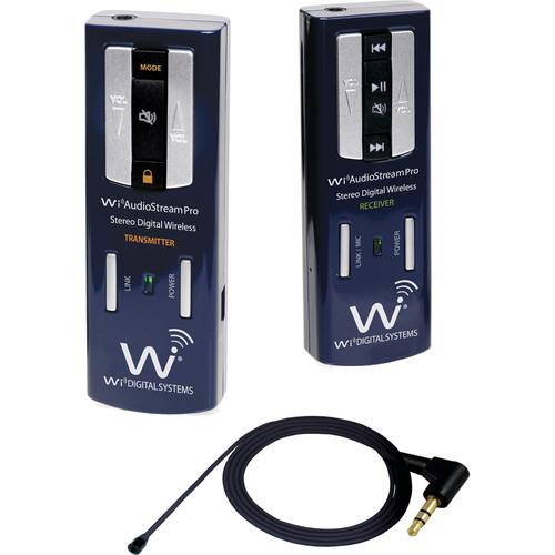 Wi Digital Wi AudioStream Pro AV Portable Digital Wireless Lavalier System