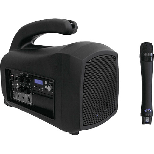 Wi Digital WI-MP540 MegaPhone Portable 2.4 GHz Personal Amplification System