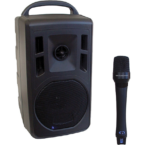 Wi Digital WI-PA550 ProAudio Portable 2.4 GHz Personal Amplification System