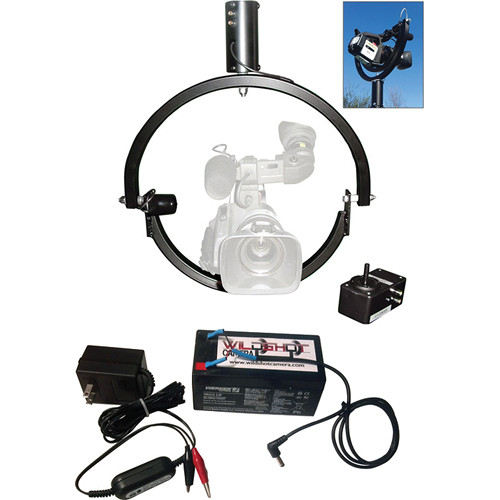 Wild Shot Camera CPT 1019 Pan Tilt System with Battery Pack Kit