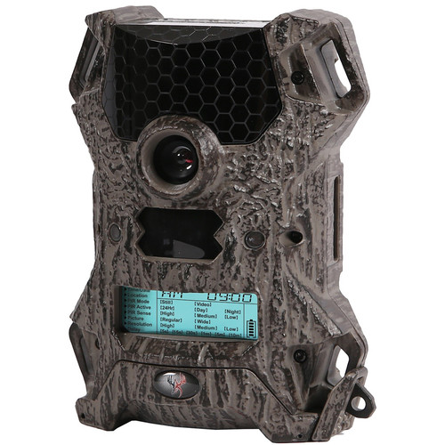 Wildgame Innovations Vision 8 Lightsout Trail Camera (TruBark HD, Clamshell Packaging)