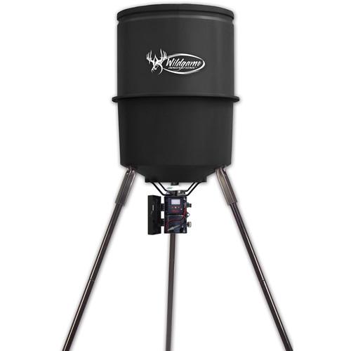Wildgame Innovations Quik Set 270 Poly Barrel Feeder (270 lb Capacity)