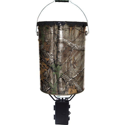 Wildgame Innovations Quik-Set 50 Feeder with Photocell Control Unit (50 lb Capacity, Realtree Xtra Camo)