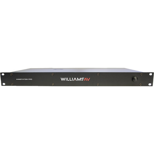 Williams Sound Annotation Pro Video Annotation System with 4K Video Support for Non-HDCP Formats