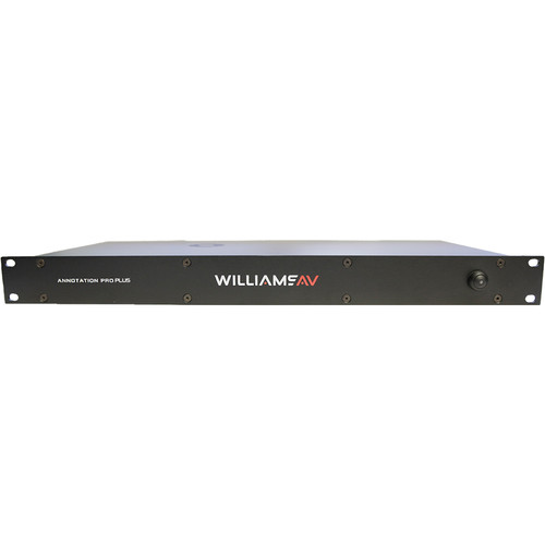Williams Sound Annotation Pro Plus Video Annotation System, 4K Video Support for HDCP Format