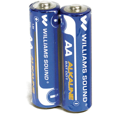 Williams Sound AA Alkaline Battery (2-Pack)