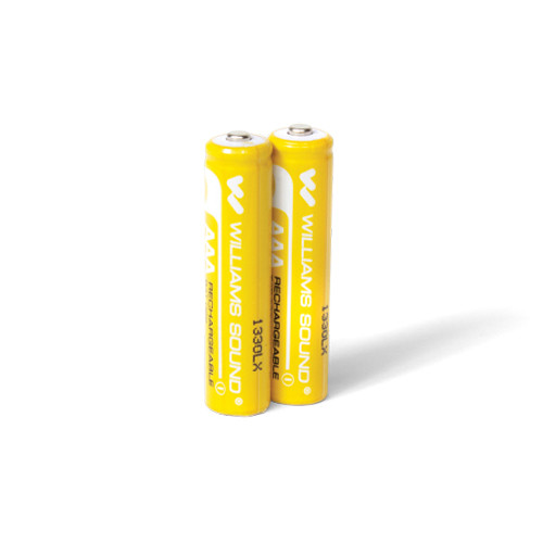 Williams Sound 1.2V AAA Rechargeable NiMH Batteries (2-Pack)