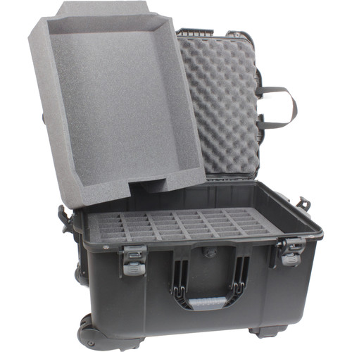 Williams Sound Large Heavy-Duty Carry Case for DigiWave, FM, and IR Systems (70 Slots)
