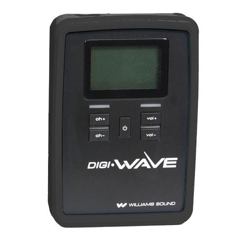 Williams Sound CCS 060 Silicone Skin for DLR 60 / 360 Digi-Wave Receiver (Black)