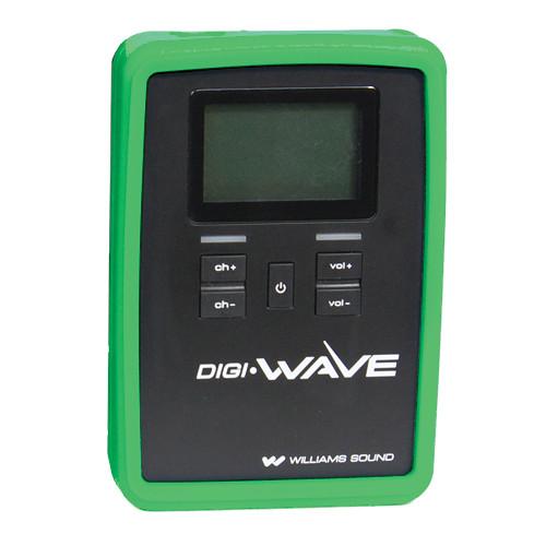 Williams Sound CCS 060 Silicone Skin for DLR 60 / 360 Digi-Wave Receiver (Green)