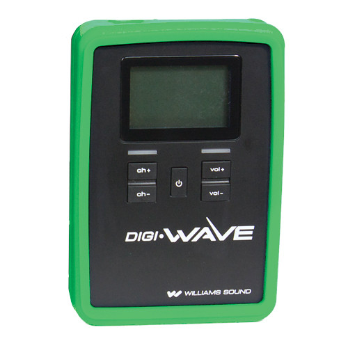 Williams Sound CCS 060 Silicone Skin for DLR 60 / 360 Digi-Wave Receiver (Green)