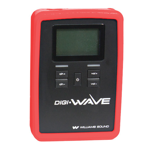 Williams Sound CCS 060 Silicone Skin for DLR 60 / 360 Digi-Wave Receiver (Red)
