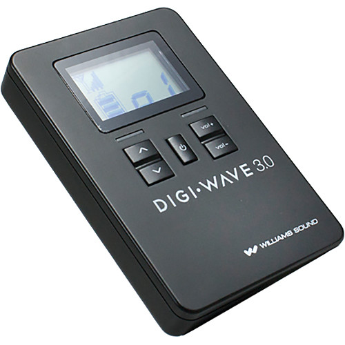 Williams Sound DLR 360 Digi-Wave Digital Receiver for DLT 300 Digi-Wave Digital Transceiver (Version 3.0)
