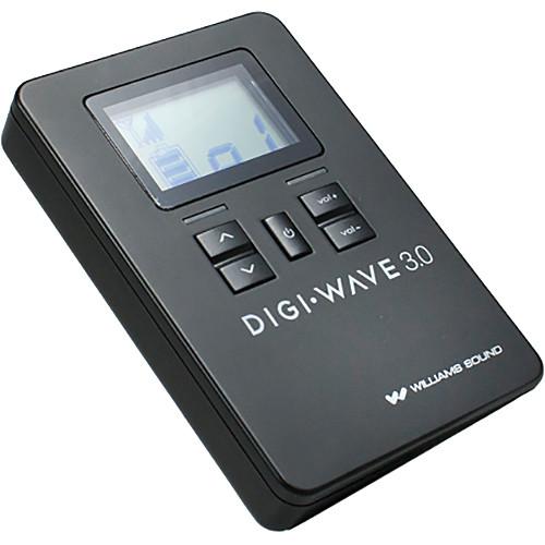 Williams Sound DLR 360 Digi-Wave Digital Receiver for DLT 300 Digi-Wave Digital Transceiver (Version 3.0)