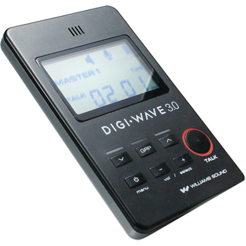 Williams Sound DLT 300 Digi-Wave Digital Transceiver for DLR 360 Receiver (Version 3.0)