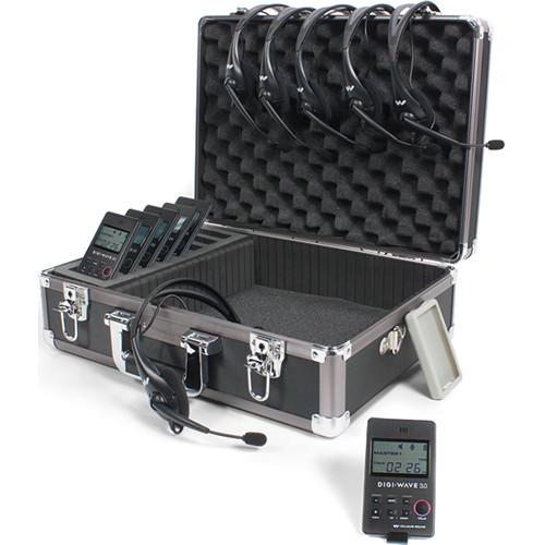 Williams Sound DWS COM 6 300 Digi-Wave Wireless Intercom System