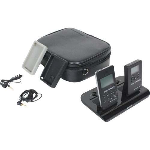 Williams Sound DWS PCS 3 300 Personal Communication System 3 with DLT 300 Transceiver, DLR 360 Receiver, and BAT 022-2 Rechargeable Batteries