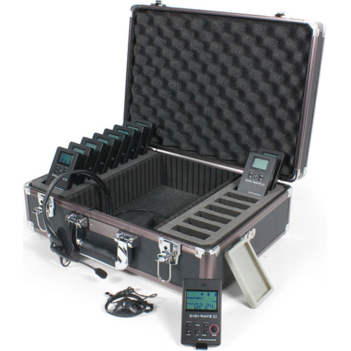 Williams Sound DWS TGS 10 300 One-Way Team Tour Guide System 10