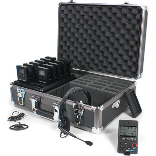 Williams Sound DWS TGS 11 300 One-Way Team Tour Guide System 11