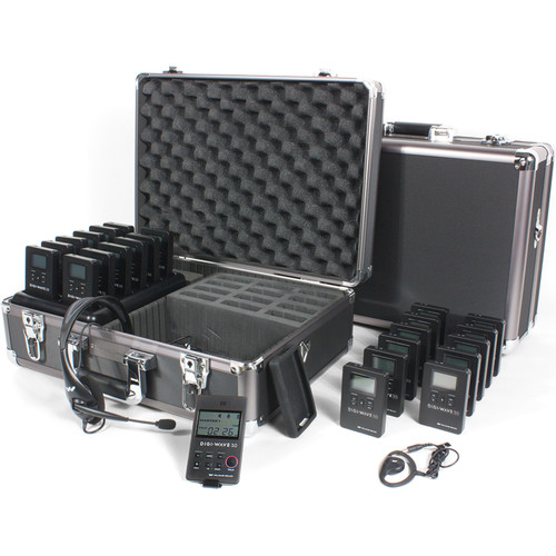 Williams Sound DWS TGS 23 300 One-Way Team Tour Guide System 23