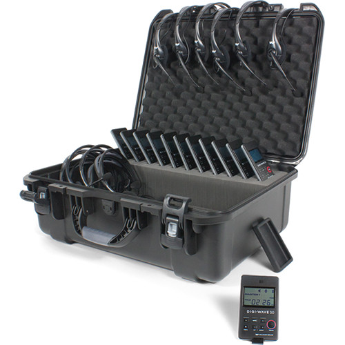 Williams Sound DWS TGS VIP 12 300 Two-Way Team Tour Guide System VIP
