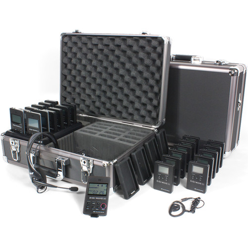 Williams Sound DWS TTGS 20 300 One-Way Team Tour Guide System 20