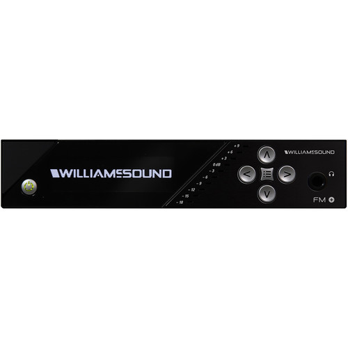 Williams Sound FM Plus - Large-Area Dual FM Assistive Listening System withAntenna and Power Supply