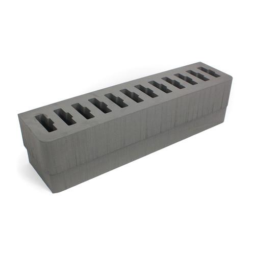 Williams Sound 12-Slot Foam Insert for Large, Heavy-Duty Digi-Wave Carry Case